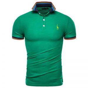 Camisa Polo Giraffe Premium Verde CP03