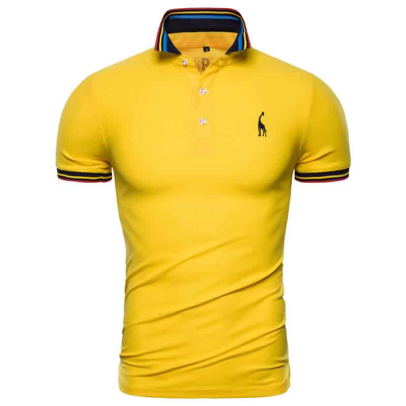 Camisa Polo Giraffe Premium Amarela CP03