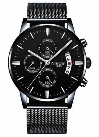 Relógio Original Nibosi Preto B Comprar