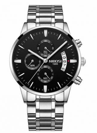 Relógio Original Nibosi Diamente Preto Comprar