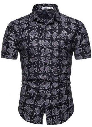 Camisa Masculina Casual Havaiana Moda Praia Marco C014