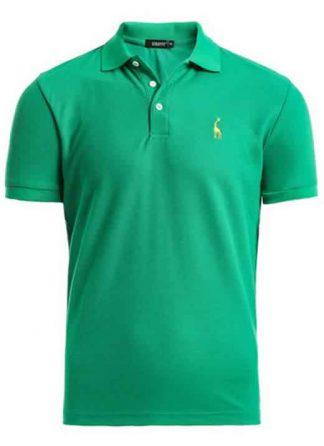 Capa Camisa Polo Girafa Manga Curta Verde CP02