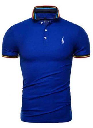 Capa Camisa Polo Giraffe Premium Azul CP03