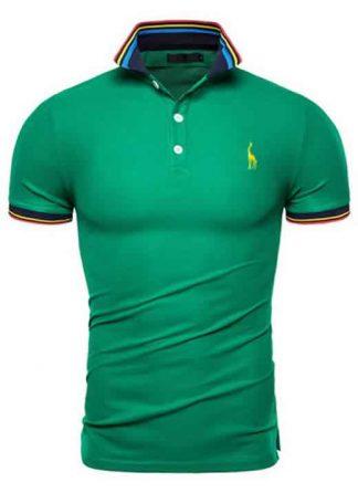Capa Camisa Polo Giraffe Premium Verde CP03