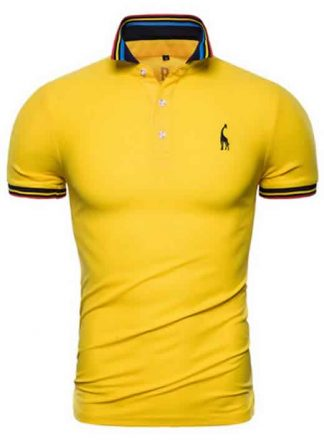 Capa Camisa Polo Giraffe Premium Amarela CP03