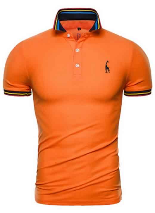 Capa Camisa Polo Giraffe Premium Laranja CP03