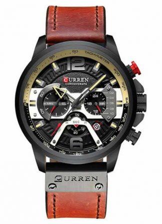Relógio Esportivo Curren Top Original Preto R004
