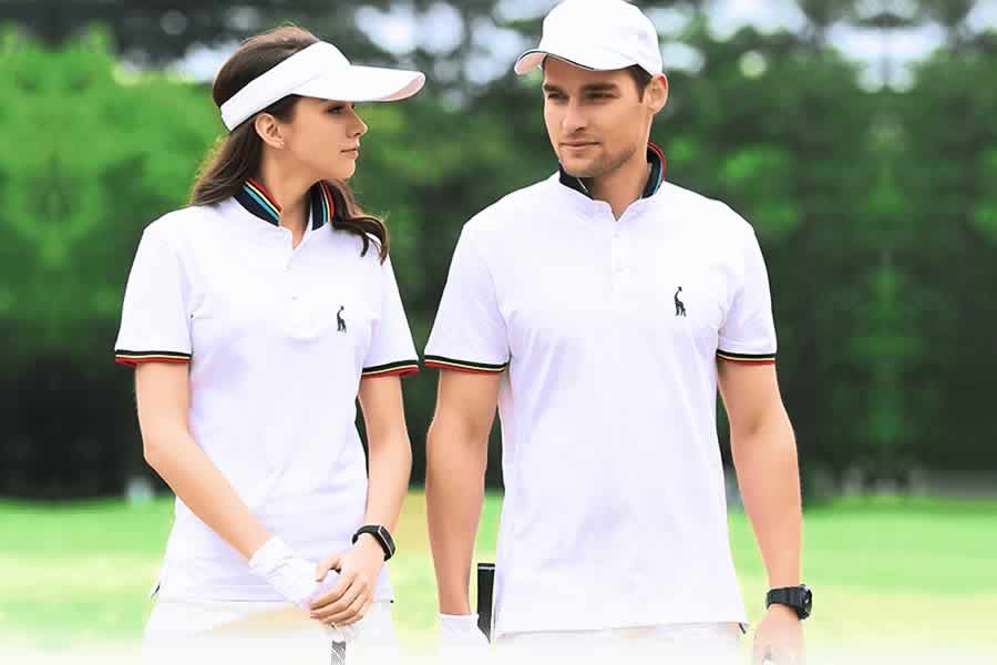 Camisa Polo GRF Premium Branca