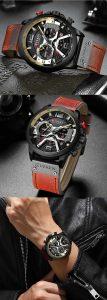 Relógio Esportivo Curren Top Original Luxo R004