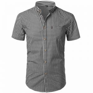 camisa xadrez masculina, camisa xadrez masculina algodão, camisa xadrez masculina GG, camisa xadrez masculina slim fit, camisa xadrez masculina country, camisa xadrez masculina como usar, camisa xadrez masculina barata Preta Frente