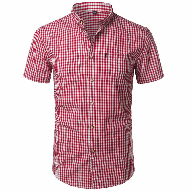 camisa xadrez masculina, camisa xadrez masculina algodão, camisa xadrez masculina GG, camisa xadrez masculina slim fit, camisa xadrez masculina country, camisa xadrez masculina como usar, camisa xadrez masculina barata Vermelha Frente