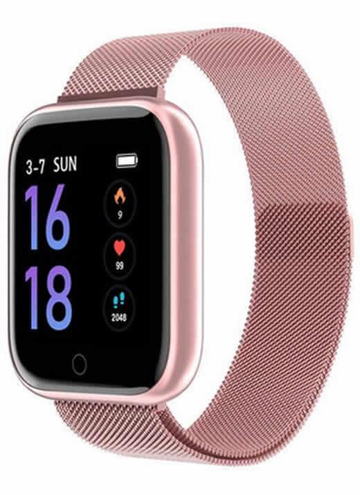 Relógio Eletrônico Smartwatch CF T80 - IP68 - Android e iOS Lilas