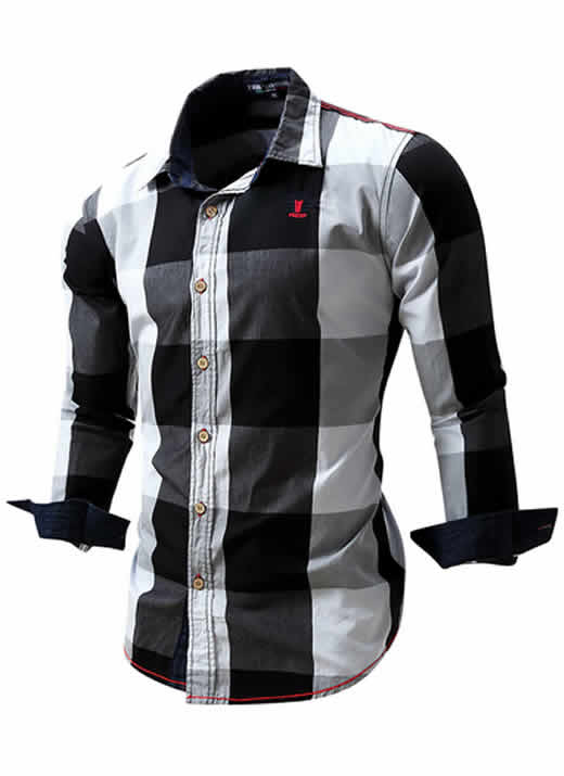 Camisa Xadrez Preta Black Masculino