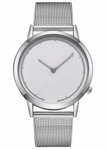 Relógio Masculino de Luxo Prata