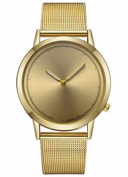 Relógio Masculino de Luxo Dourado