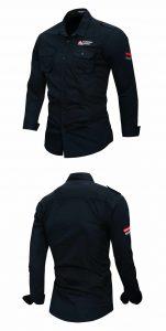 Fredd marshall novo 100% algodão camisa militar dos homens de manga longa casual vestido camisa masculina carga trabalho camisas com bordado 115