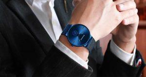 Esportes dos homens Relógios Top Marca de Luxo Ultra Fina Casuais À Prova D' Água Esporte Relógio Quartz Homens de Aço Completa Assista Relogio masculino promoção