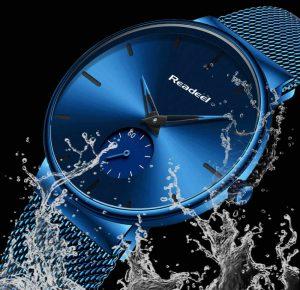 Esportes dos homens Relógios Top Marca de Luxo Ultra Fina Casuais À Prova D' Água Esporte Relógio Quartz Homens de Aço Relogio masculino marca