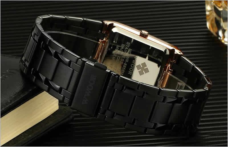 relógio wwoor masculino pulseira