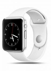 Relogio Prata Bluetooth Wifi Smartwatch A1 Camera Celular Chip