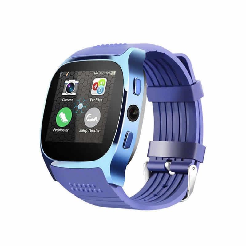 T8 Bluetooth Relógio Inteligente Com Câmera Facebook Whatsapp Apoio SIM Card TF Esportes Chamada Smartwatch Para Android Telefone PK Q18 DZ09
