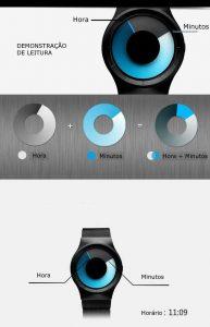 Criativo Quartz Relógios Homens Top Marca de Luxo Casual Relógio Unisex