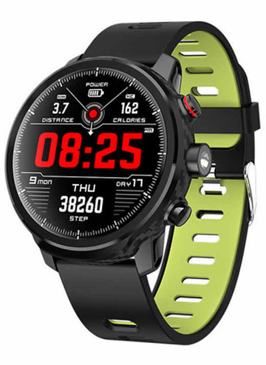 Relógio Eletrônico Smartwatch Magnus Stratos L5 - IP68 Verde
