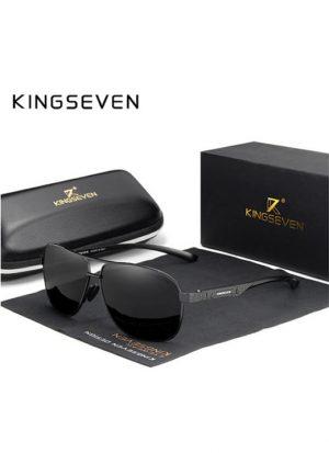 Óculos KingSeven Polarizado HD Preto Original