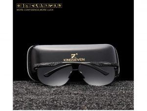 Óculos de Sol Masculino Aviador Original KINGSEVEN Polarizados HD