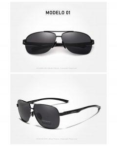 Óculos de Sol Masculino Aviador Original KINGSEVEN Raiban
