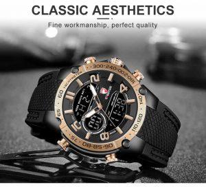 Relógio Pulso Cheetah de Luxo Masculino Militar Esportivo