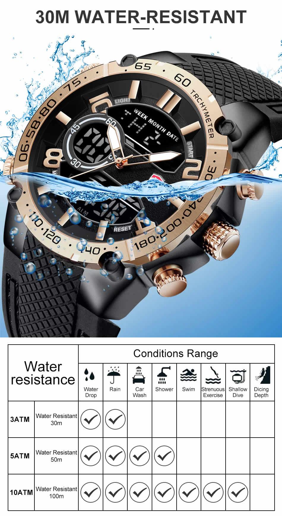 Relógio Cheetah de Luxo Masculino Militar Esportivo Impermeável