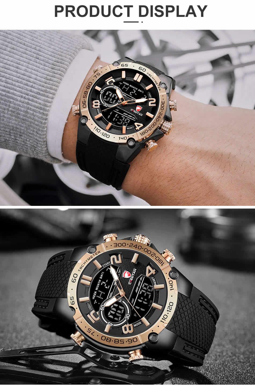 Relógio Cheetah de Luxo Masculino Militar Esportivo Luminiso de Luxo Pulso