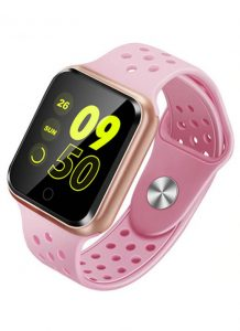 Relógio Smartwatch OLED Pró Série 2 - Android ou iOS Rosa