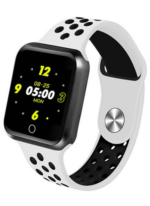 Relógio Smartwatch OLED Pró Série 2 - Android ou iOS Branco Preto e Cinza