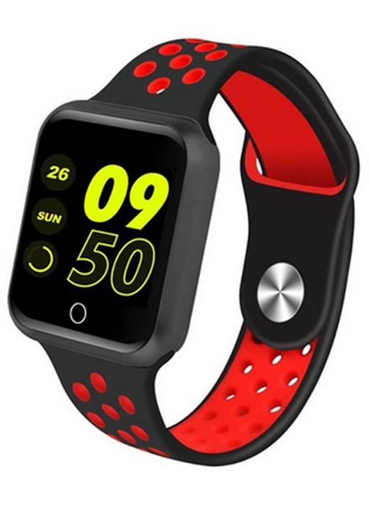 Relógio Smartwatch OLED Pró Série 2 - Android ou iOS Preto Vermelho