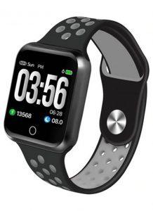 Relógio Smartwatch OLED Pró Série 2 - Android ou iOS Preto e Cinza
