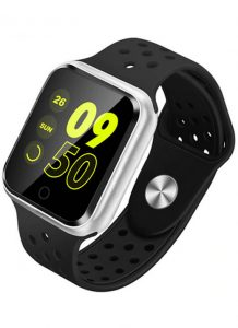 Relógio Smartwatch OLED Pró Série 2 - Android ou iOS Preto Prata