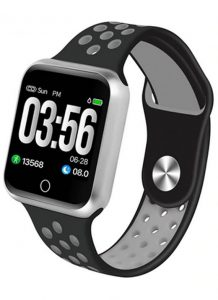Relógio Smartwatch OLED Pró Série 2 - Android ou iOS Preto Cinza Prata