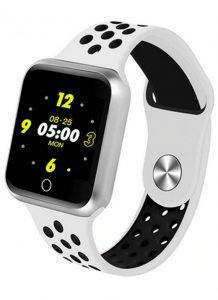 Relógio Smartwatch OLED Pró Série 2 - Android ou iOS Branco e Preto