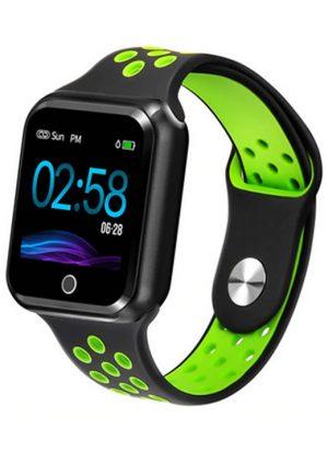 Relógio Smartwatch OLED Pró Série 2 - Android ou iOS Preto e Verde
