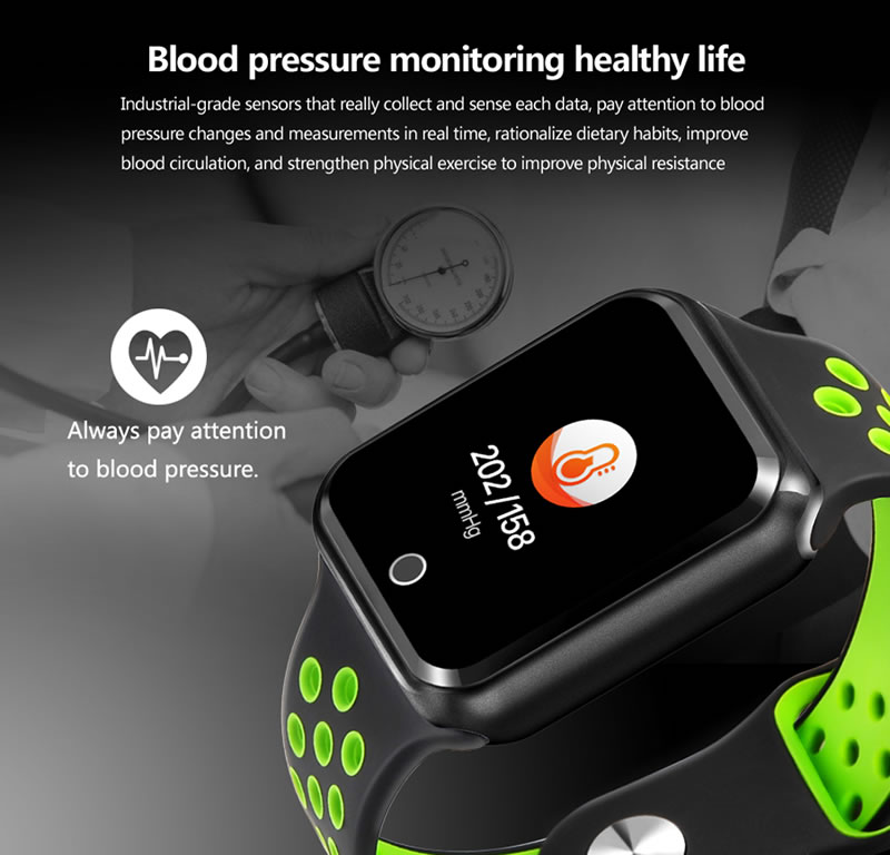 Smart Watch PRO 2019 a Prova d'agua Monitoramento Cardiaco