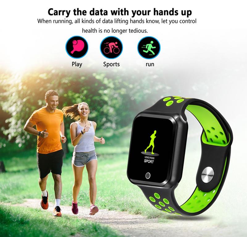 Smart Watch PRO 2019 a Prova d'agua Caminha Corrida Esportes