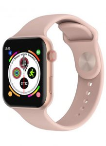 Relógio Smartwatch F10 - iOS / Android Rosa
