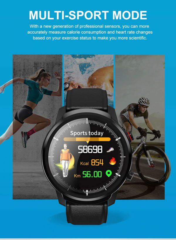 Relógio Smartwatch CF L3 - iPhone ou Android Esportes