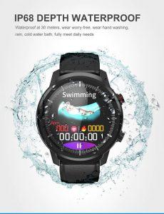 Relógio Smartwatch CF L3 - iPhone ou Android Natação Agua