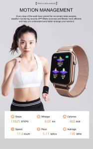 Smartwatch Relógio Eletrônico Y6 Pro Style Corrida