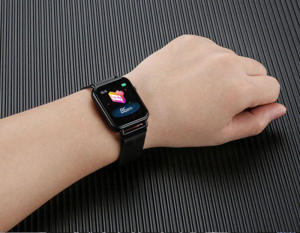 Smartwatch Relógio Eletrônico Y6 Pro Style Pulsação