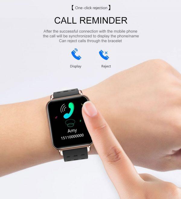 Smartwatch Relógio Eletrônico Y6 Pro Style Atende Ligações
