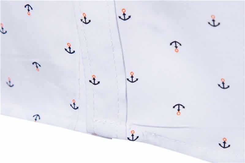 Camisa Masculina Slim Fit Detalhes
